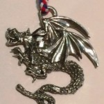 Token for the Order of the Red Wyvern - Photo by Baroness Ceara Shionnach.